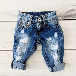 Other - Baby Boy Distressed Ripped Trendy Jeans 3-6 Month
